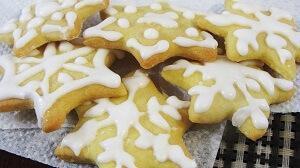 рождественское печенье глазурь