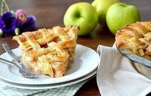 яблочный пирог рождество американский