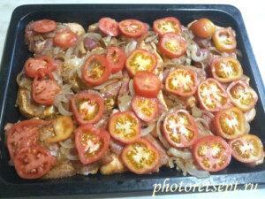 помидоры свинина