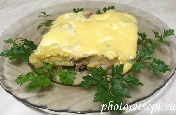 картофель по-французски рецепт фарш