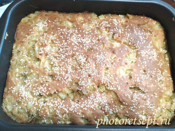 пирог заливной картофельный