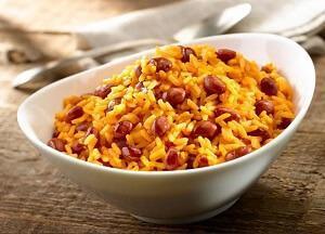 новогоднее меню фасоль и рис