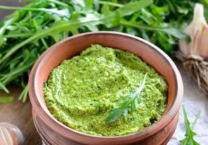 заправка для салата из рукколы