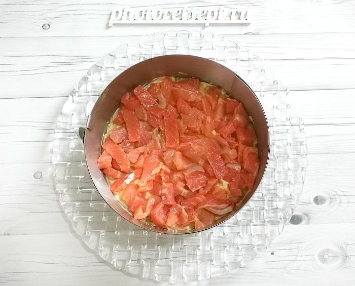 рыба красная слой салата