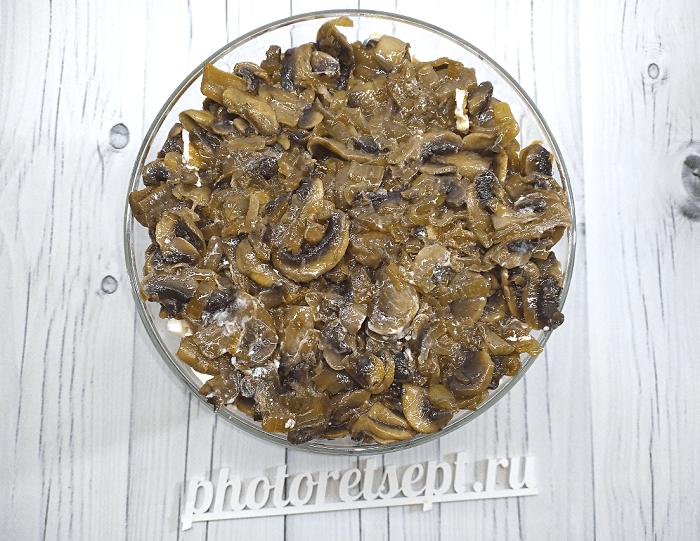 салат с курицей копченой грибами и ананасами фото 5