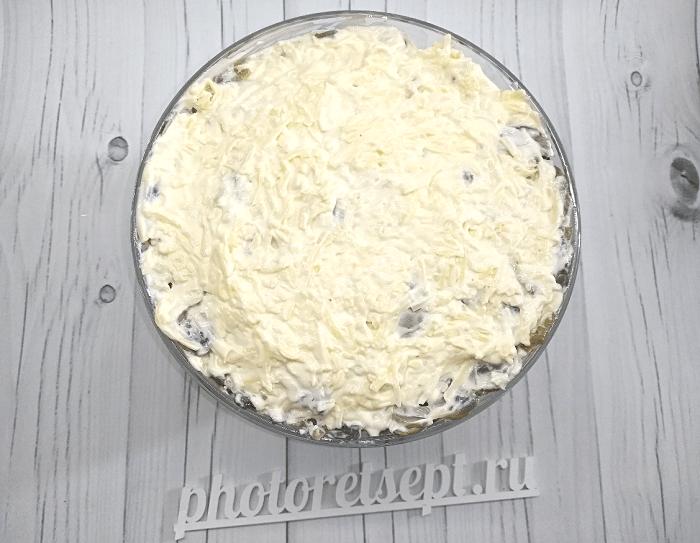 салат с курицей копченой грибами и ананасами фото 6