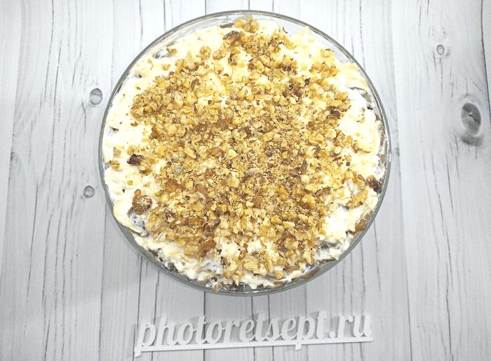 салат с курицей копченой грибами и ананасами фото 7
