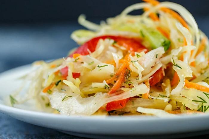 салат пекинская капуста перец
