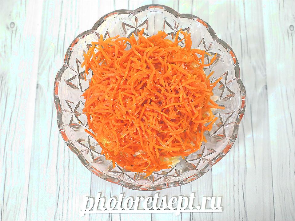 корейская морковь с капустой