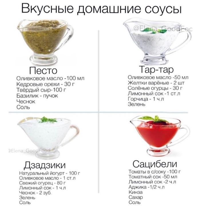 домашние соусы